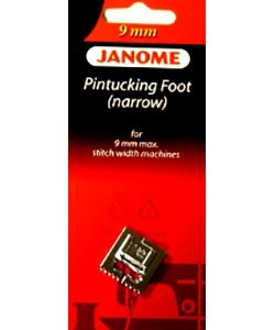 Janome Pintucking Foot Narrow -  9 mm `