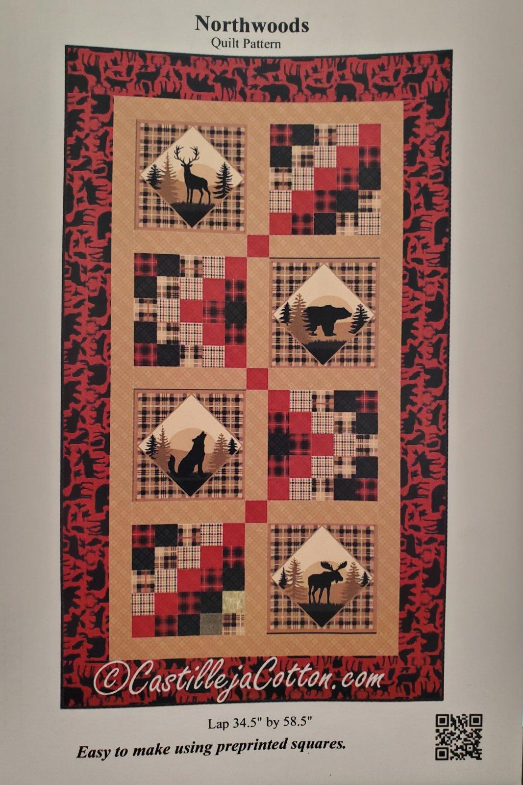 Northwoods Quilt Pattern CJC35002