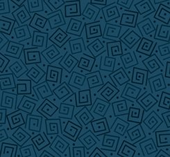 Quilting Treasures Harmony Flannel 24779QBFLN Squares Prussian Blue `