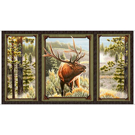 Mountain Elk Picture Panel ~
