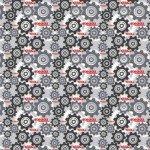 Camelot Fabrics Tonka Gears Grey CAM95060104-02 '