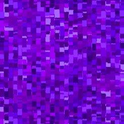 QT Ombre Squares Minky 27427-VMINK Purple