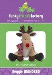 Reggie Reindeer 14 Soft Toy Pattern FF4484 '