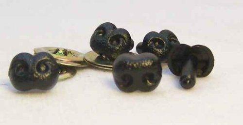 Sassy Bears Safety Nose 15mm Black N-B15-BK-10 '