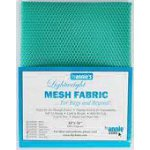 Lightweight Mesh Fabric Turquoise By Annie