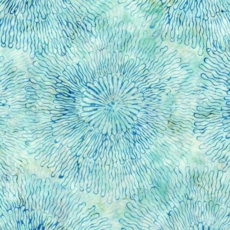 Batik Blossom 3504-001 Splash Artic Batiks RJR Fabrics