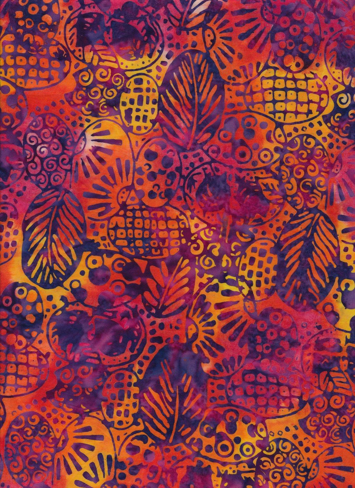 Batik Mazie-028 Majestic Batiks '