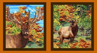 Autumn Blaze - Elk Panel`
