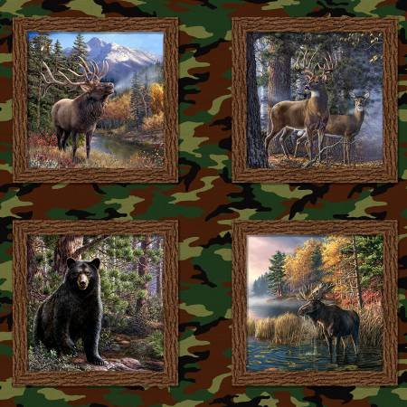 The Great Outdoors Digital Panel - Multi `