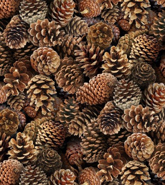 Elizabeth's Studio Landscape Medley 454 Brown Pinecones  `