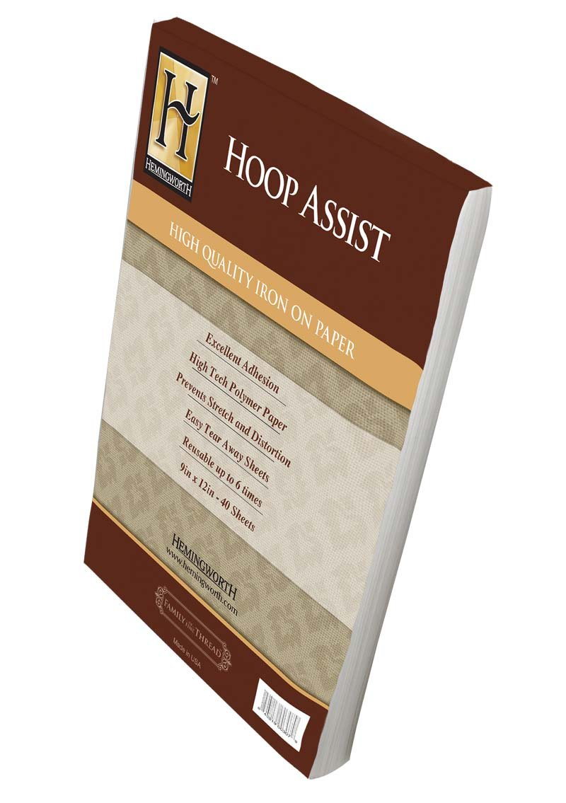 Hemingworth Hoop Assist Iron-on Paper 0307