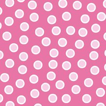 ABC Animal Flannel 4JHK3 Pink with White Dots In The Beginning `