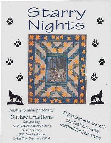 Starry Nights/Wolf Panel Kit '