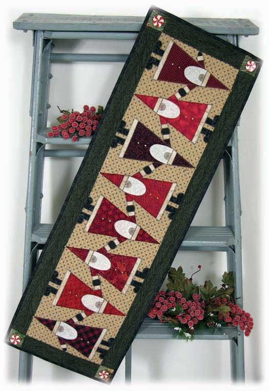 Topsy Turvey Santa Pattern with Embellishment kit  `