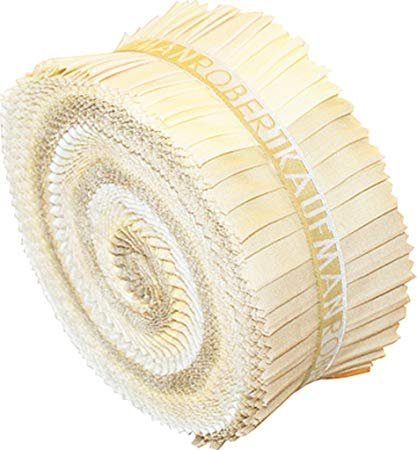 Kona Cotton Pre-cut Sandcastle 2.5 strips `