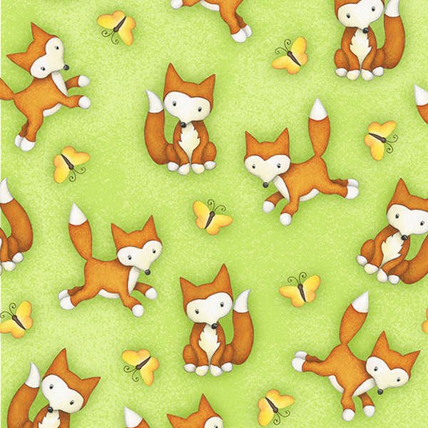 Green Fox 6200 66 Henry Glass Fabric `