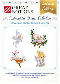 #66  - Image by Design - Morehead Winter Fairies & Angels ~