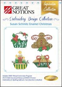 #68  - Image by Design -  Susan Schmitz Enamel Christmas ~
