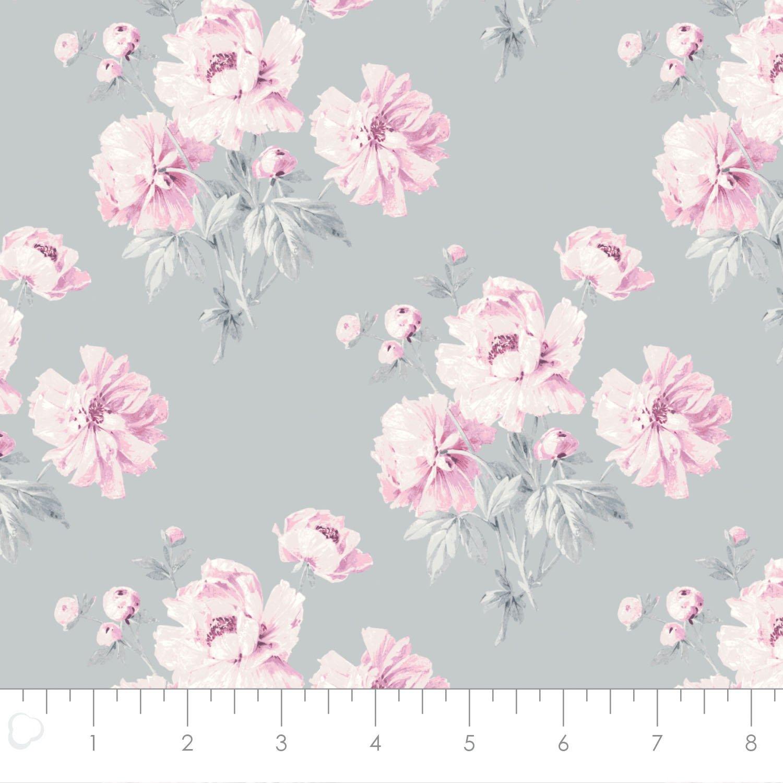 Camelot Fabrics Grace Peonies 71170301-01 `