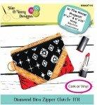 Diamond Diva Zipper Case In The Hoop SWAST110 `