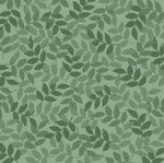 Quilting Treasures Harmony Flannel 1698-57-HFLN Leaf Spruce Green `