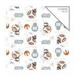 Camelot Fabrics Star Wars Flannel 7360403B-02 The Last Jedi `
