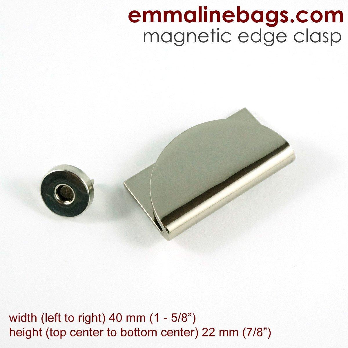 Emmaline Bags Half Moon Magnetic Snap MAGLOCK-NL/1 `