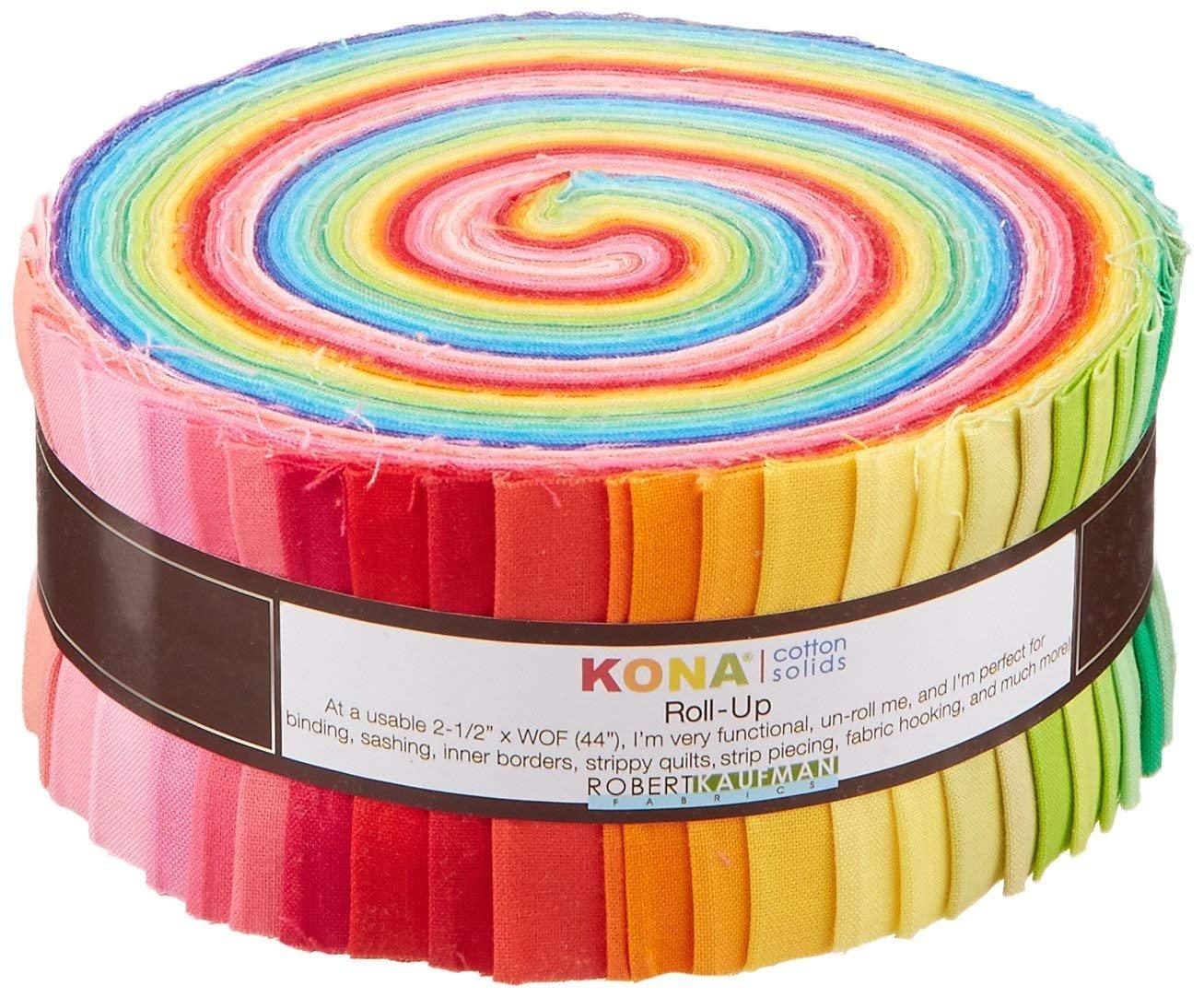 Kona Cotton Pre-cut 2.5 strips `