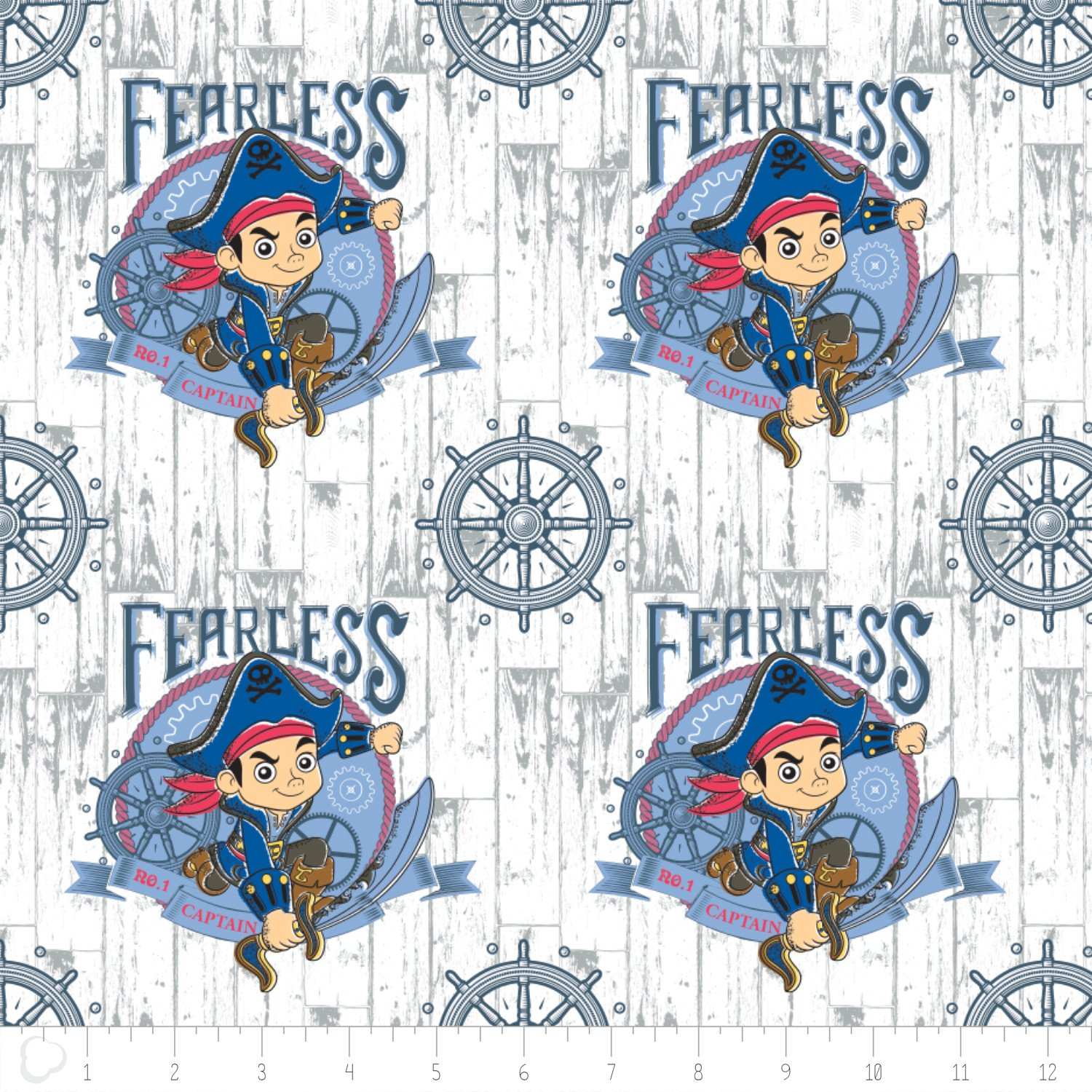 Camelot Fabrics Disney Captain Jake And The Never Land Pirates Flannel 85060001B-01 `