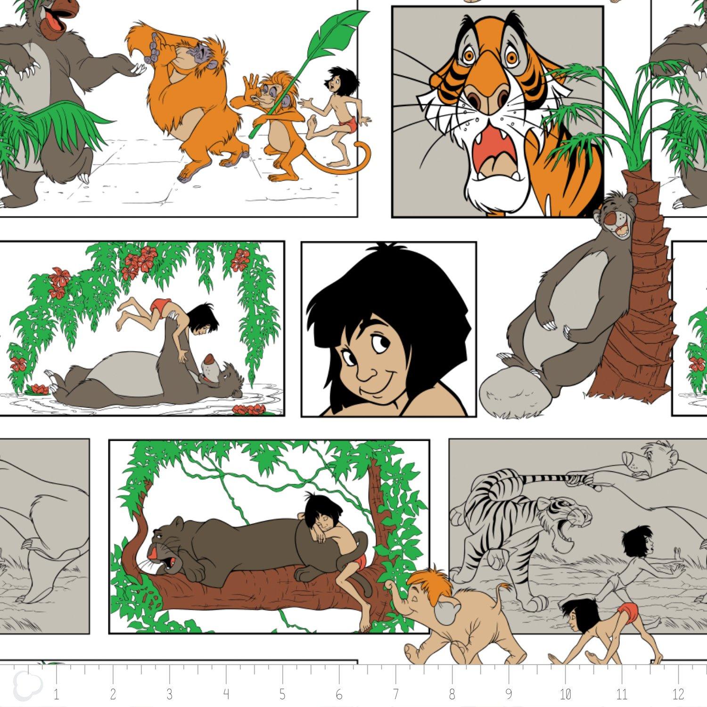 Camelot Jungle Book Flannel 85220001B01 `