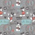 Camelot Fabrics Mickey Mouse  Oh Boy! 850270301-02 `