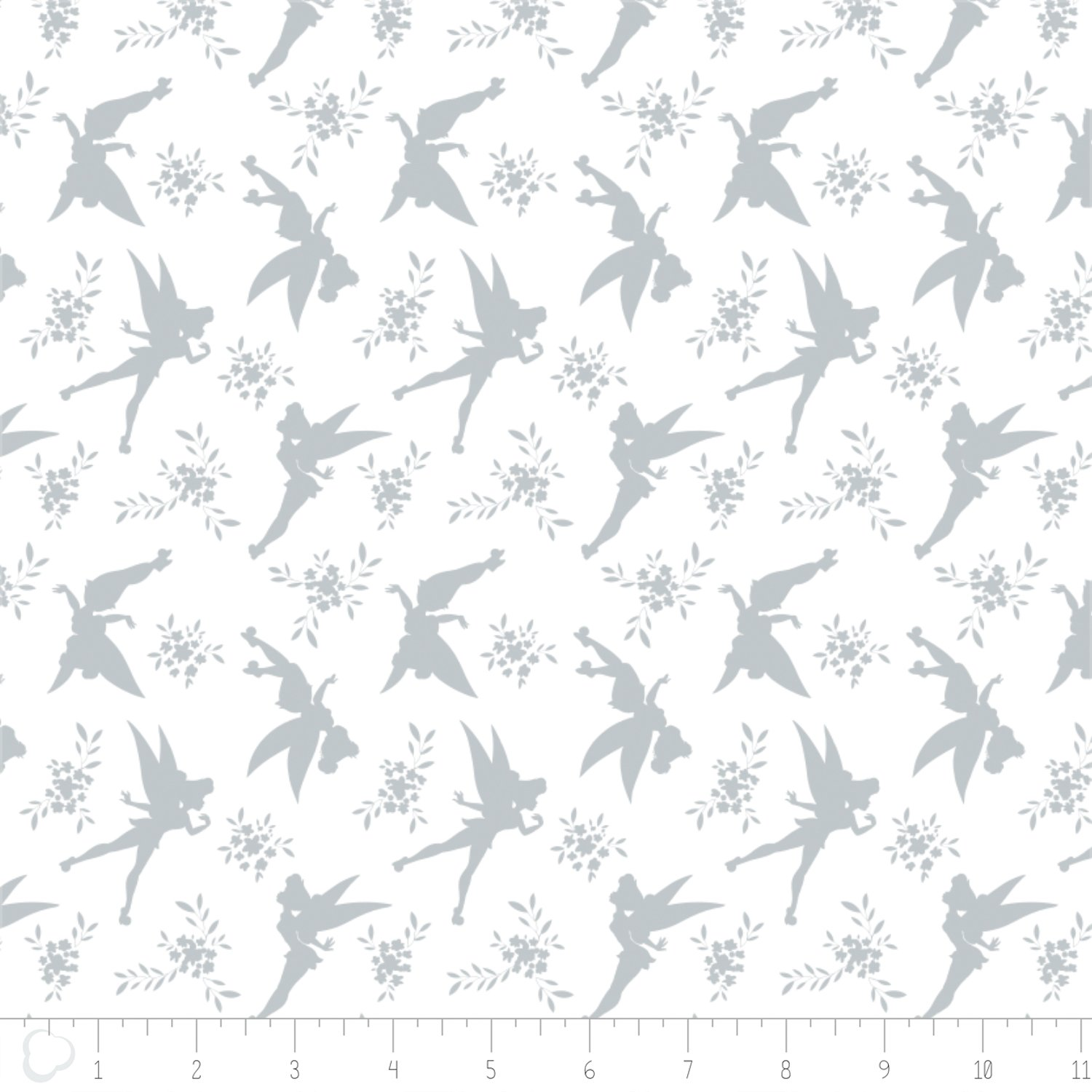 Camelot Fabrics Disney Tinker Bell Tink Silhouette 85400102-03 `
