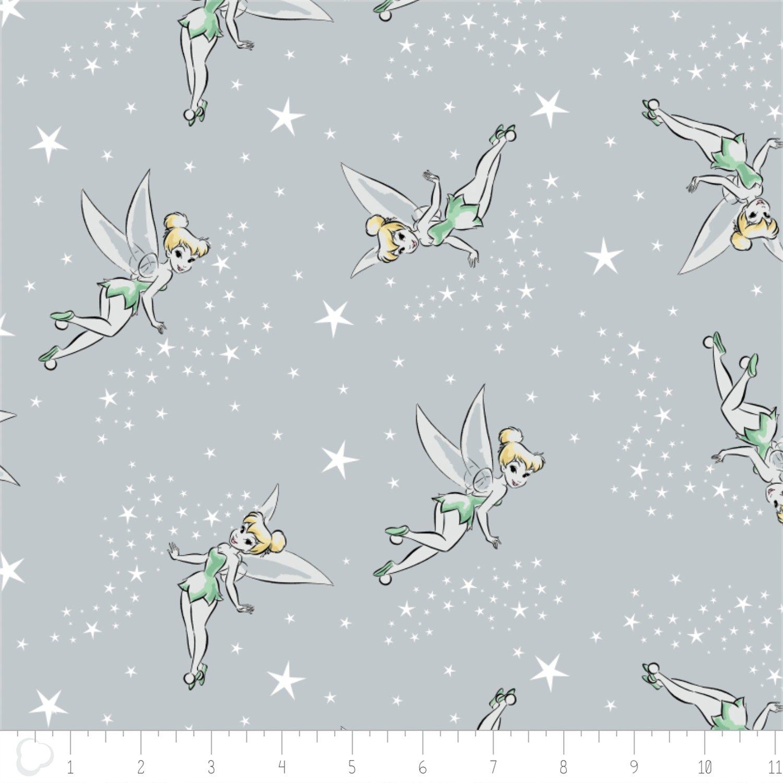 Camelot Fabrics Disney Tinker Bell Pixie Dust 85400104-03 `