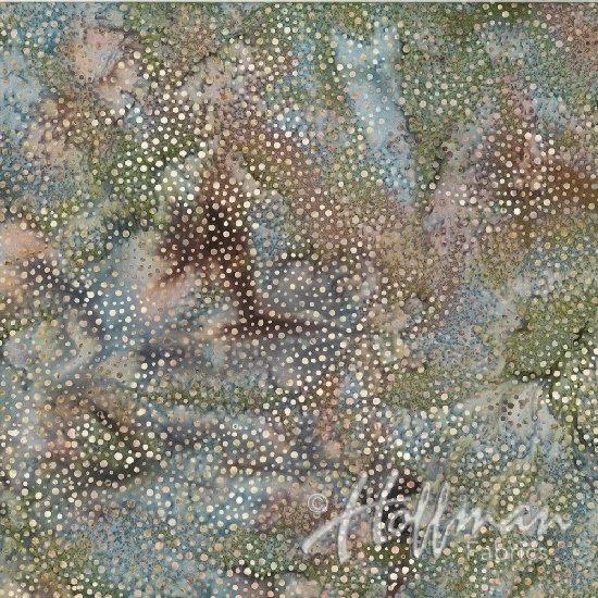 885-294-Sandpiper Hoffman Dots Batik '