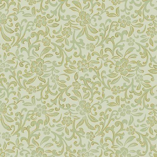Benartex 8935M-26 Garden Scroll Sage Kanvas Studios  '
