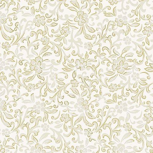 Benartex 8935M-07 Garden Scroll Cream Kanvas Studios  `