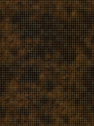 Dit-Dot Flannel *AHF-18  Cocoa In The Beginning Fabrics `~