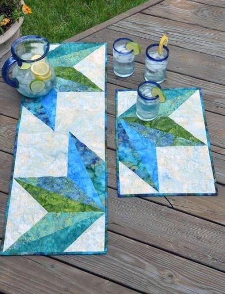 Split Diamond Table Topper `