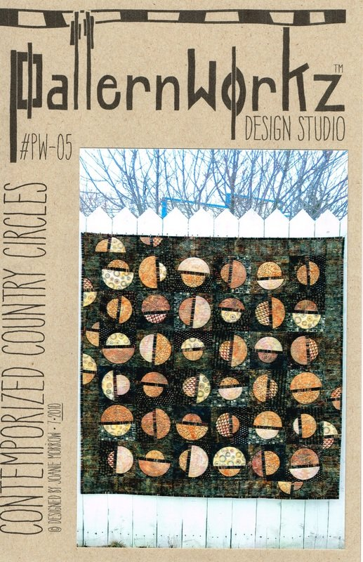 Contemporized Country Circles Quilt Pattern