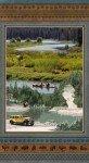 Henry Glass & Co Yellowstone Scenic Panel 9499P-93