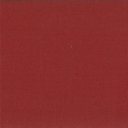 Moda Bella Solids Brick Red`