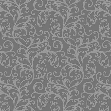 Henry Glass & So Spellbound Decorative Grey Scroll `