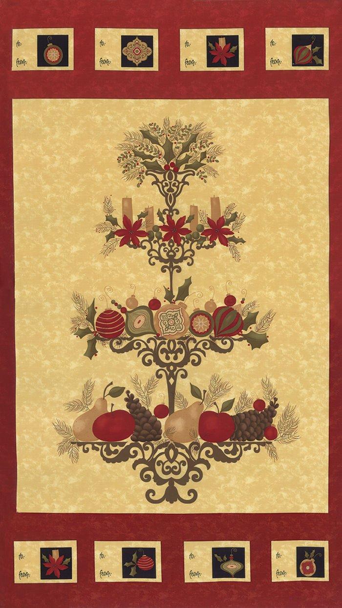 Pine Fresh Fabric Panel