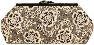 Modern Clutch Downtown Abbey Rose With Frame  Pink Sand Beach Designs