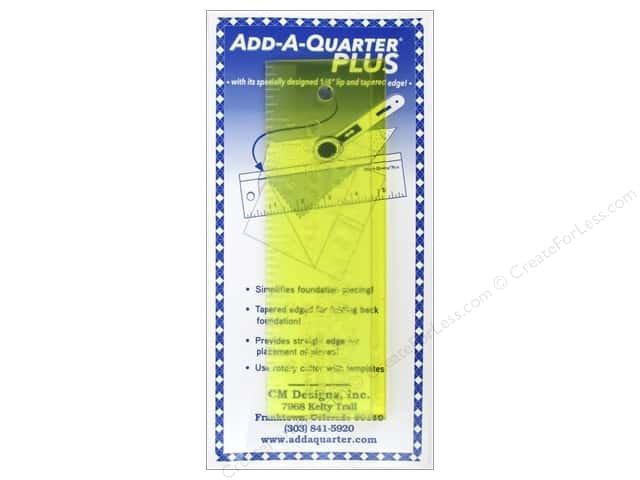 Add -A-Quarter Plus Ruler 2 x 6 `