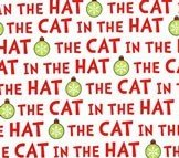 The Cat in the Hat Christmas - Text White `