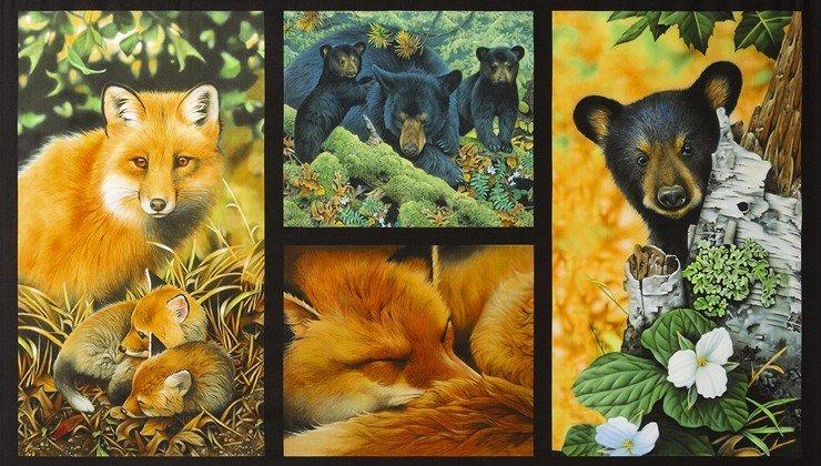 North American Wildlife Panel AJQD-18459-268 Nature Robert Kaufman`