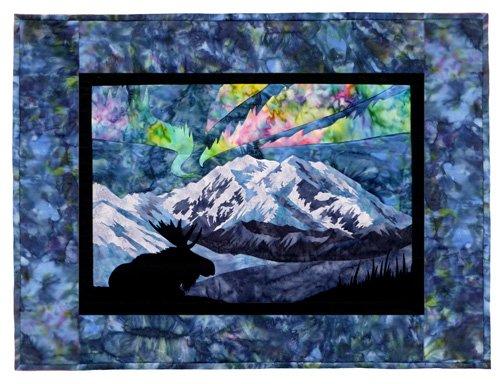 Wildfire Designs Alaska Aurora Nights: At the Park Wallhanging Laser Cut Kit Plus Pattern WDA1903LKP....