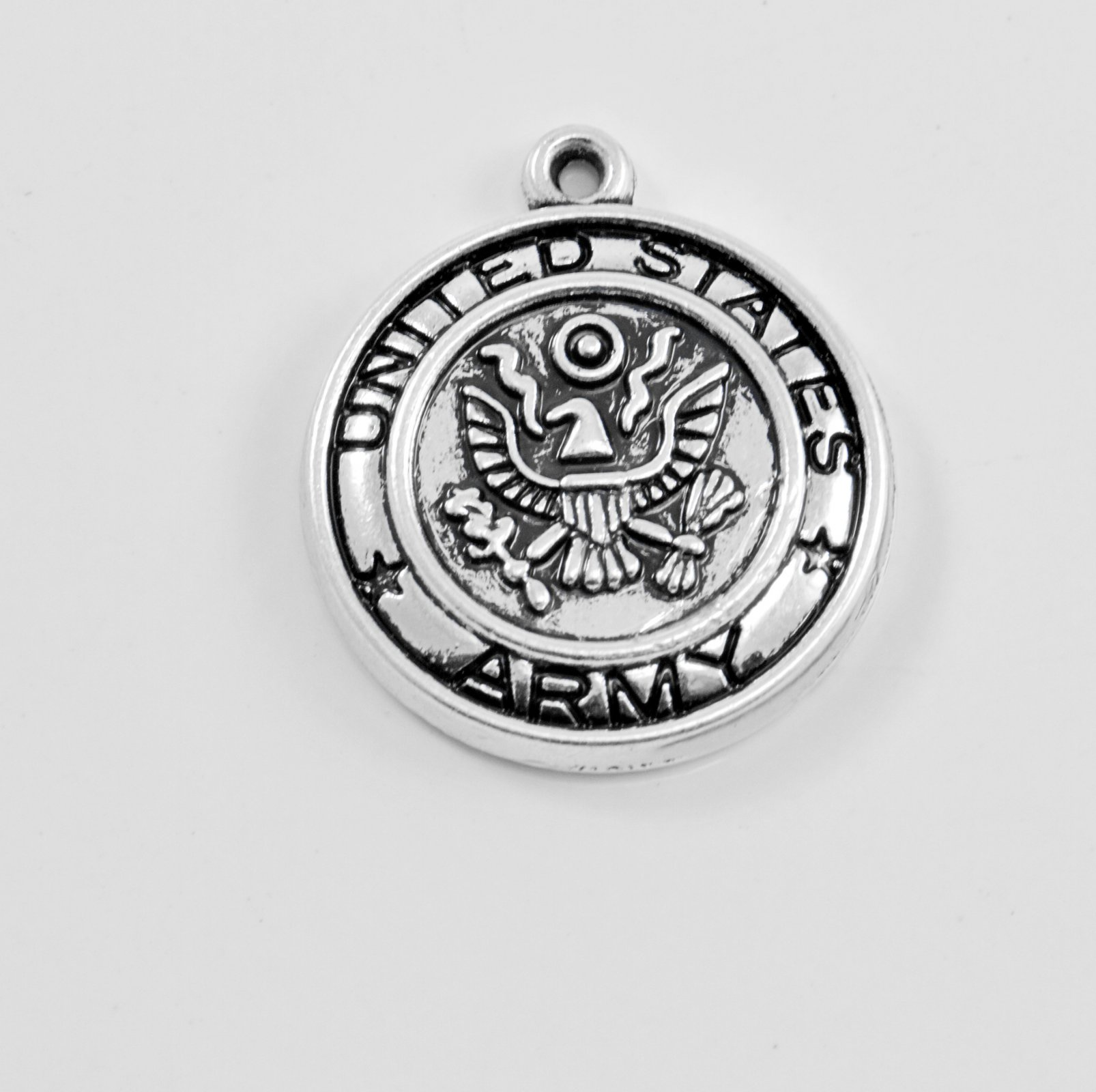 US Army Charm with lobster clasp`