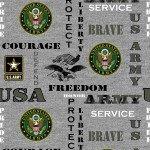 Grey Army Seal ARMY-1181`